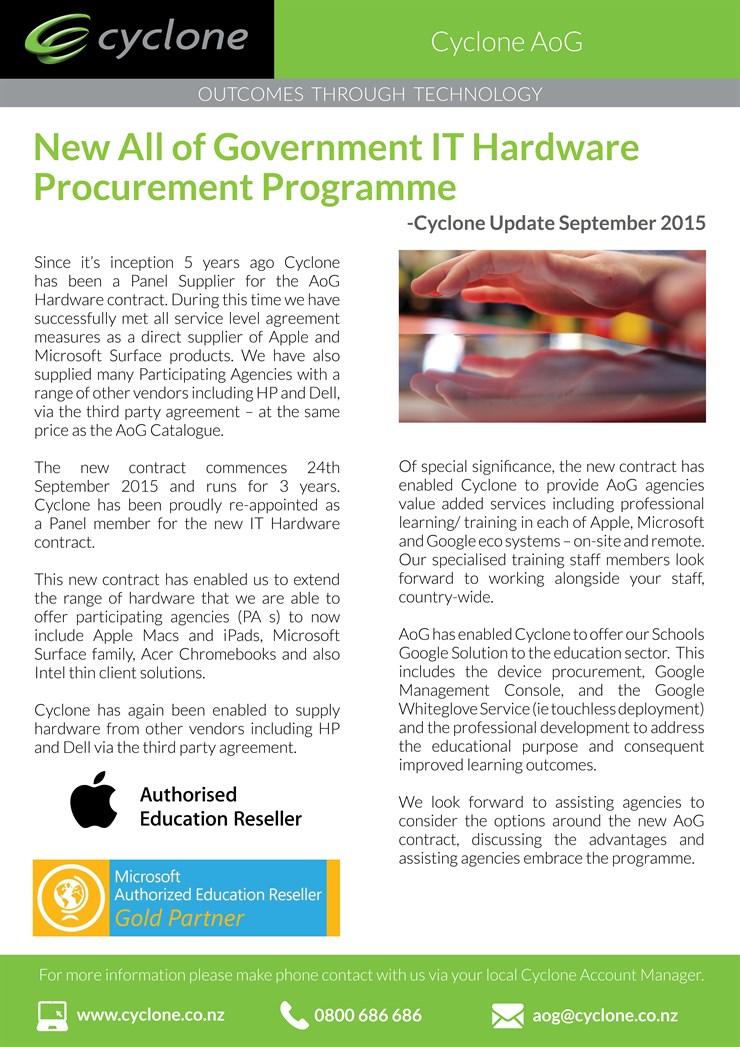 Aog Procurement Programme